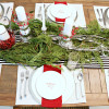 Festive Tablescape for a Holiday Dinner Party