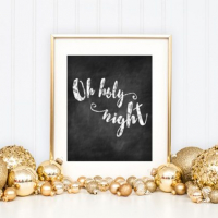 Bake Craft Sew Decorate: Free Chalkboard Christmas Printables