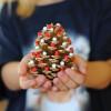 Bake Craft Sew Decorate: Pom Pom Pinecone Trees