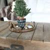Bake Craft Sew Decorate: DIY Stenciled Christmas Decor