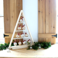 Bake Craft Sew Decorate: DIY Modern Tree with Ornaments