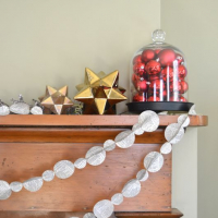 Bake Craft Sew Decorate: $1 Paper Garland