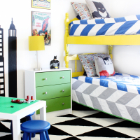 Superhero Boys Room Revamp