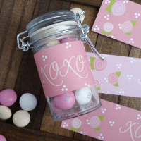 Gift Ideas: Printable Valentines Jar Labels