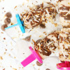 Chocolate Toasted Coconut Popsicle
