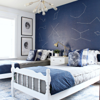 Prescott View Home Reno: My Little Boys' Space Room Makeover