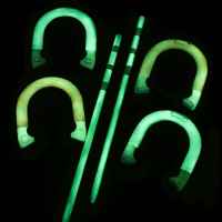 How to make Glow in the Dark horseshoes