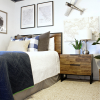 Guest Room Refresh with Pier 1