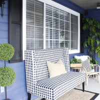 Prescott View Home Reno: DIY Wood Shutters and Front Porch Makeover