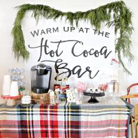 Hot Chocolate Bar - Hot Cocoa Bar Ideas