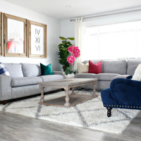 Prescott View Home Reno: Living Room Makeover