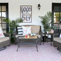 Palm Springs Inspired Patio Decor