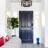 Park Home Reno: Entry Way Makeover