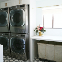 Modern Ranch Reno: Laundry Room - Part 2 Appliances