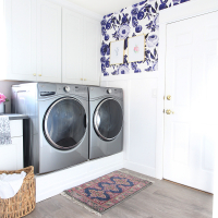 Park Home Reno: Laundry Room Makeover