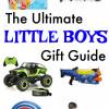 GIFT GUIDE: Little Boys' Gift ideas