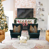 Modern Ranch Reno: Living Room Holiday Refresh