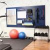 Park Home Reno: Home Gym Organizer using a pegboard