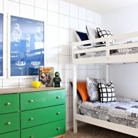 Park Home Reno: Kids Room Ideas - LEGO Room Makeover