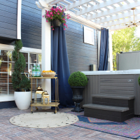 Park Home Reno: Back Patio Ideas and Patio Progress