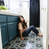 The space I've been avoiding sharing! | My kids bathroom