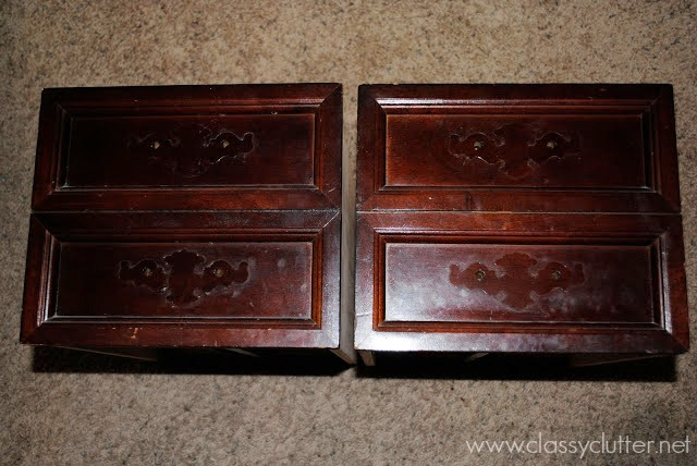 what kind of spray paint do you use on wood furniture. Black Bedroom Furniture Sets. Home Design Ideas