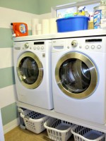 DIY Laundry Room Makeover - www.classyclutter.net