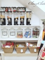 Pantry Makeover and Organizing Ideas - www.classyclutter.net