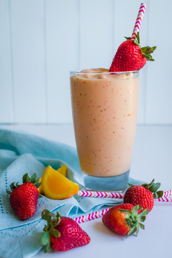 Orange-Berry-Smoothie-Classy-Clutter