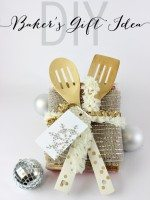 DIY Serving Utensils and Bakers Gift Idea