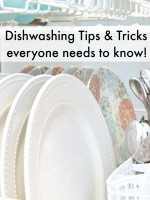 Dishwashing Tips and Tricks