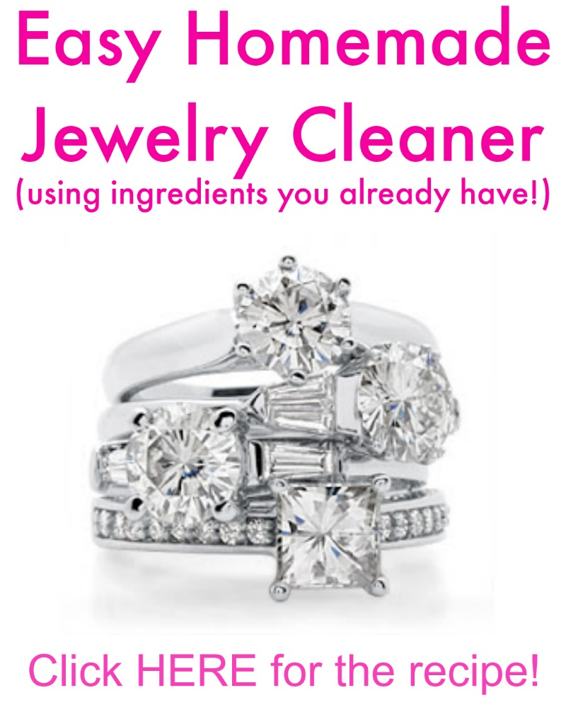 your homemade oblacoder fancy diamond jewelry cleaner with and clean vinegar
