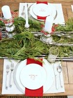 Festive Tablescape