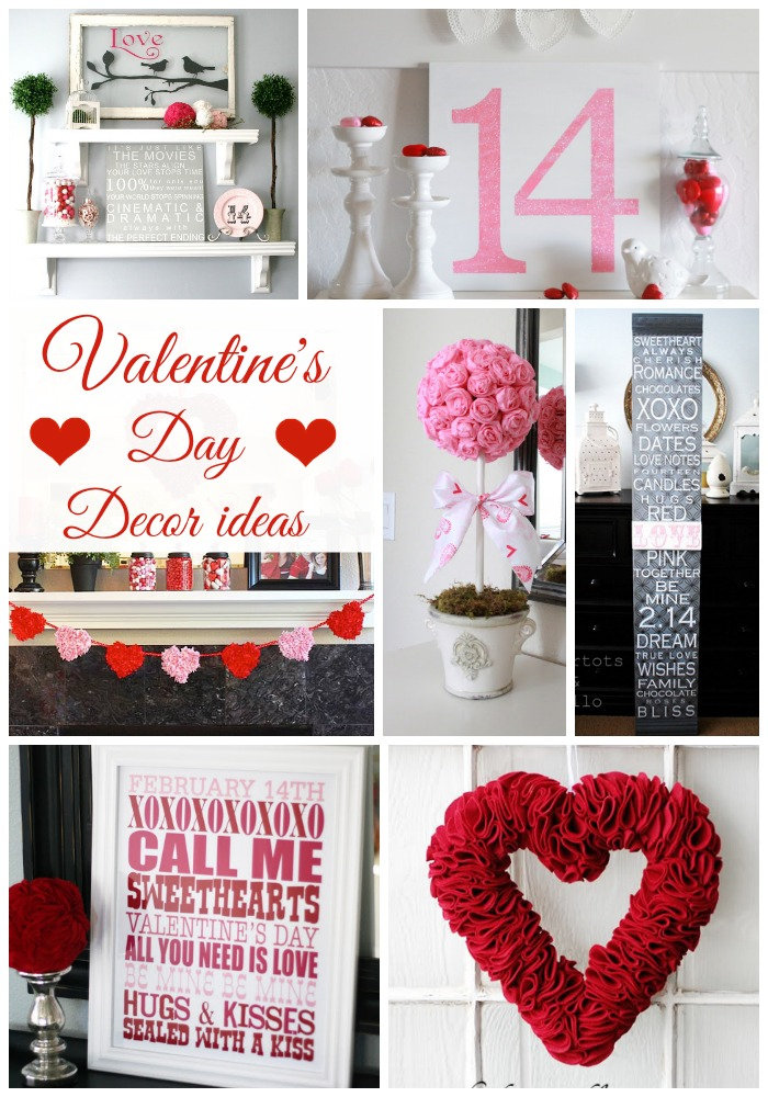 valentines day decor ideas - Valentines Day Decor