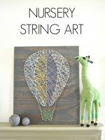 Nursery String Art