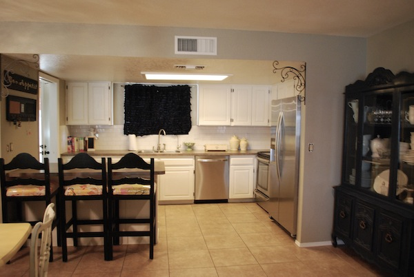 Maintenance mode for I want to redo my kitchen