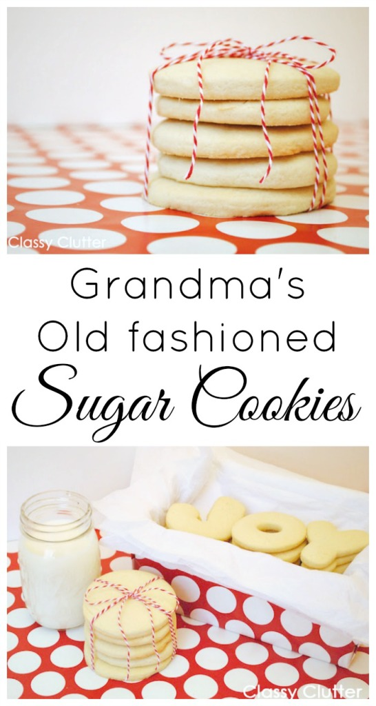Grandma's Old Fashioned Sugar Cookies