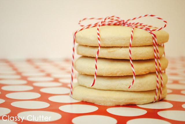 sugar cookie stack