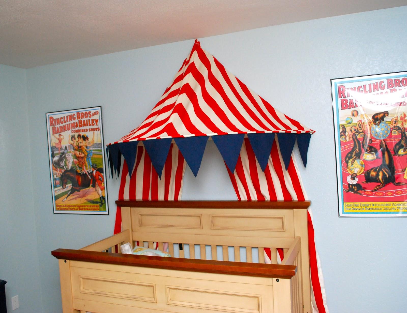Circus Nursery & Circus Nursery - Classy Clutter