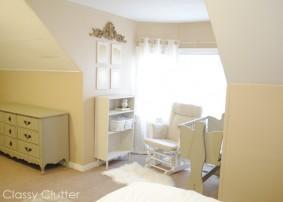 Baby's Mini Nursery Nook (in our Master Bedroom)