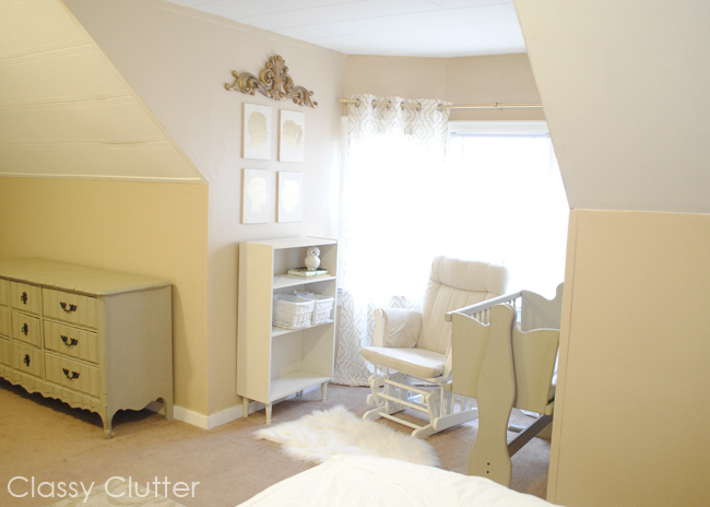 Baby's Mini Nursery Nook (in our Master Bedroom) - Cly Clutter on nursery sets and collections, crib in our bedroom, baby crib in bedroom, nursery in guest bedroom,