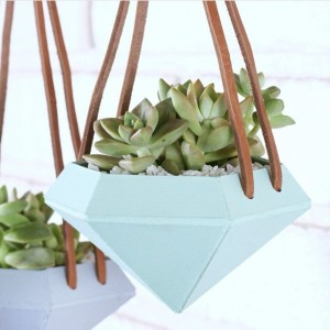 Let's talk about these succulent planters from our friend @craftedsparrow!…
