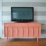 Coral TV Console