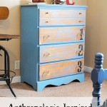 Anthro Inspired Ordinal Dresser