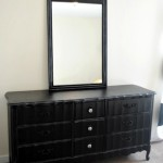 Black and Zebra Dresser