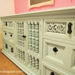 Mint Craft Room Dresser
