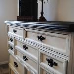 Black and Ivory Dresser