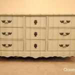 Grey Chalk Paint Dresser