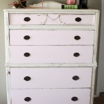 Pink Chalk Paint Dresser + Recipe