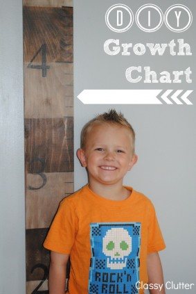 DIY Wooden Growth Chart Tutorial